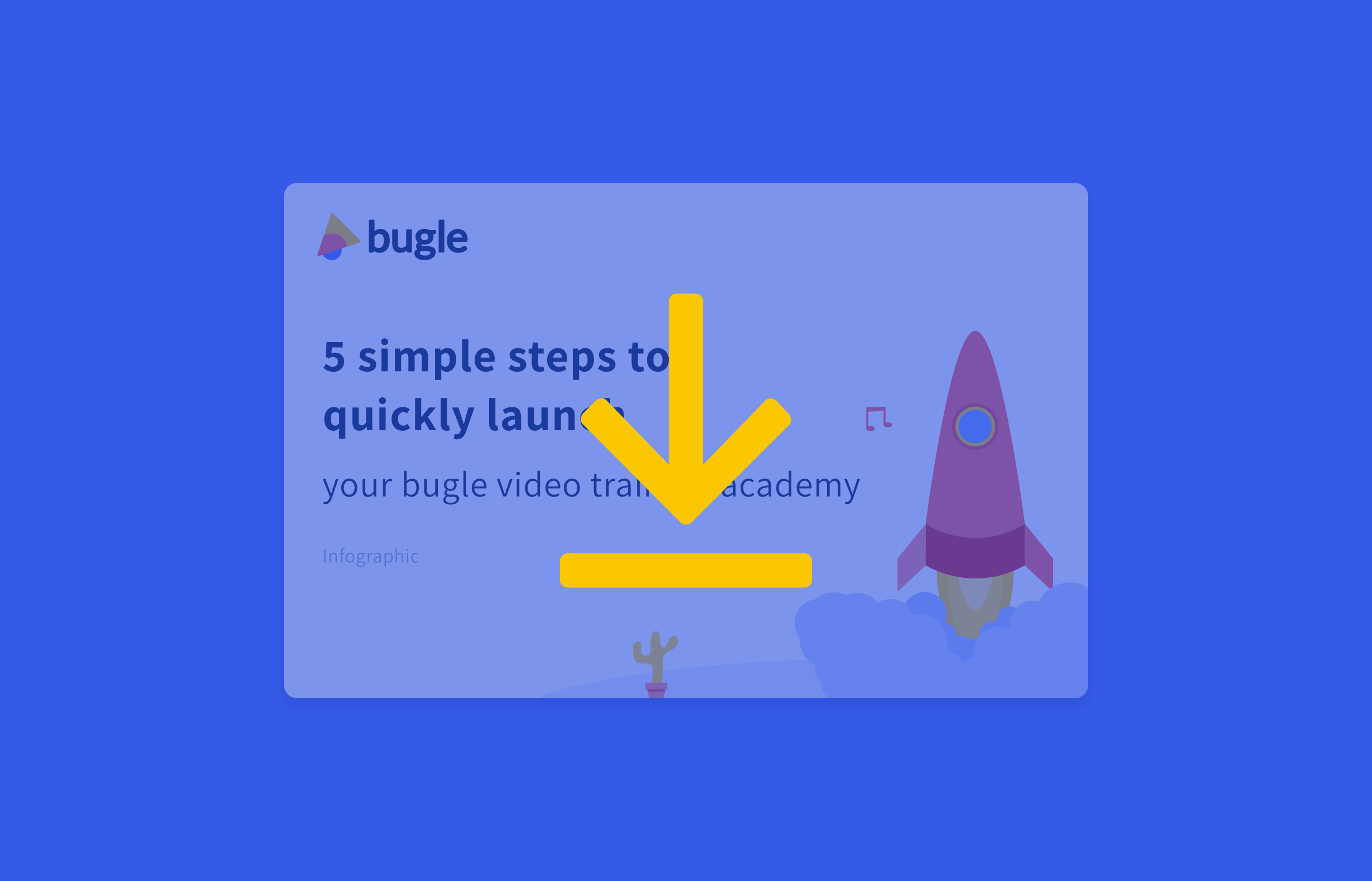 how to setup bugle video training academy in less than 2 hours